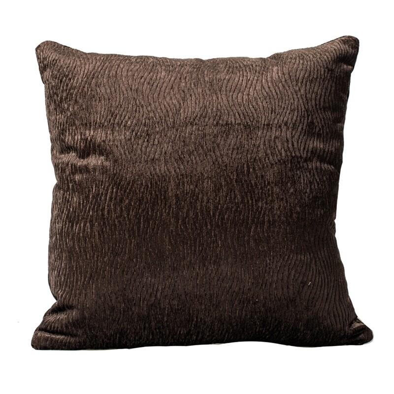Μαξιλαροθήκη Φιγούρας 105920 Σκούρο Καφέ - Ilis Home