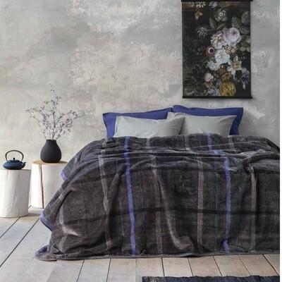 Κουβέρτα Βελουτέ Υπέρδιπλη Glen - Nima Home