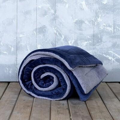 Κουβερτο-Πάπλωμα Υπέρδιπλο Nuan Blue-Gray - Nima Home