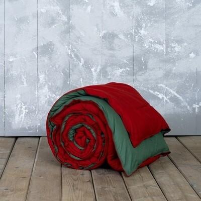 Πάπλωμα Μονό Abalone Red-Green - Nima Home