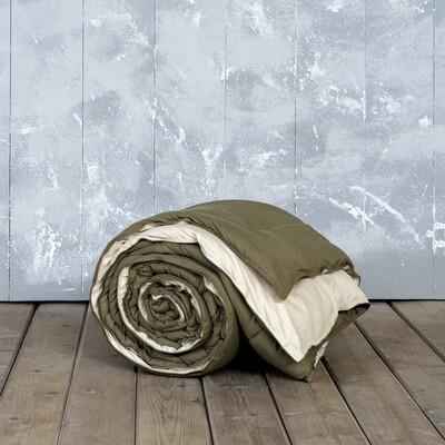 Πάπλωμα Μονό Abalone Brown-Light Beige - Nima Home