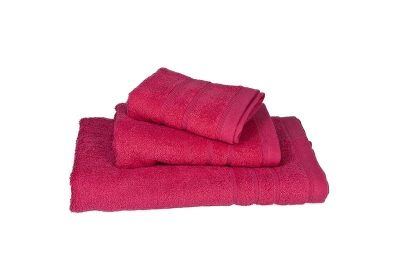 Πετσέτα Χειρός Μονόχρωμη Πενιέ 500 gr/τμ Φούξια - Komvos