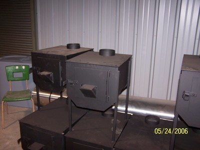 Western Steel Works Small Camp Stove
