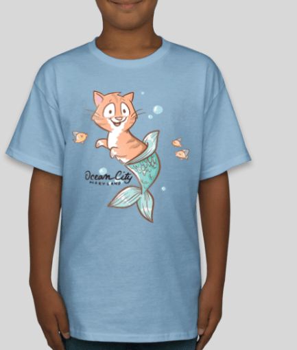 New Pip the Purrmaid Kids T-shirts!