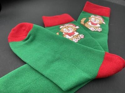 Merry Pip-mas Christmas Socks