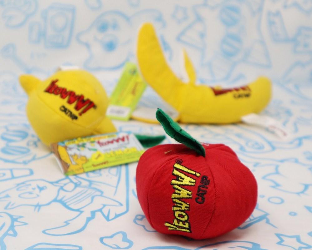Yeowww!! Catnip Fruit Basket Toys