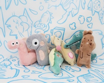 Whimsical Catnip Toys