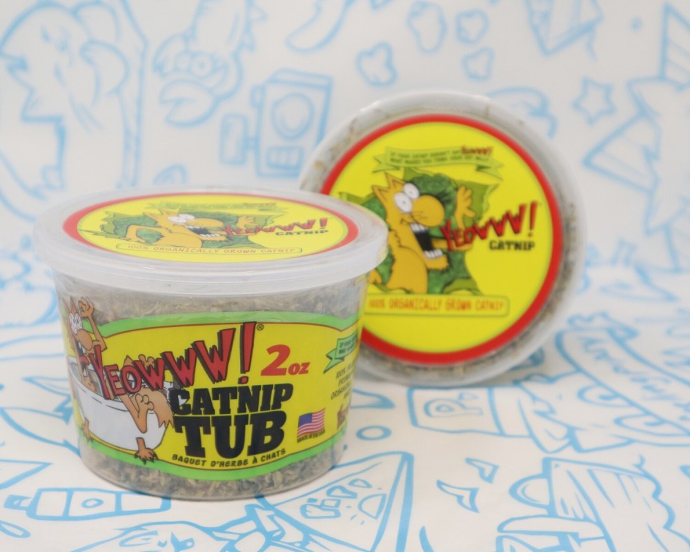 Yeowww! Catnip Tub 2oz.