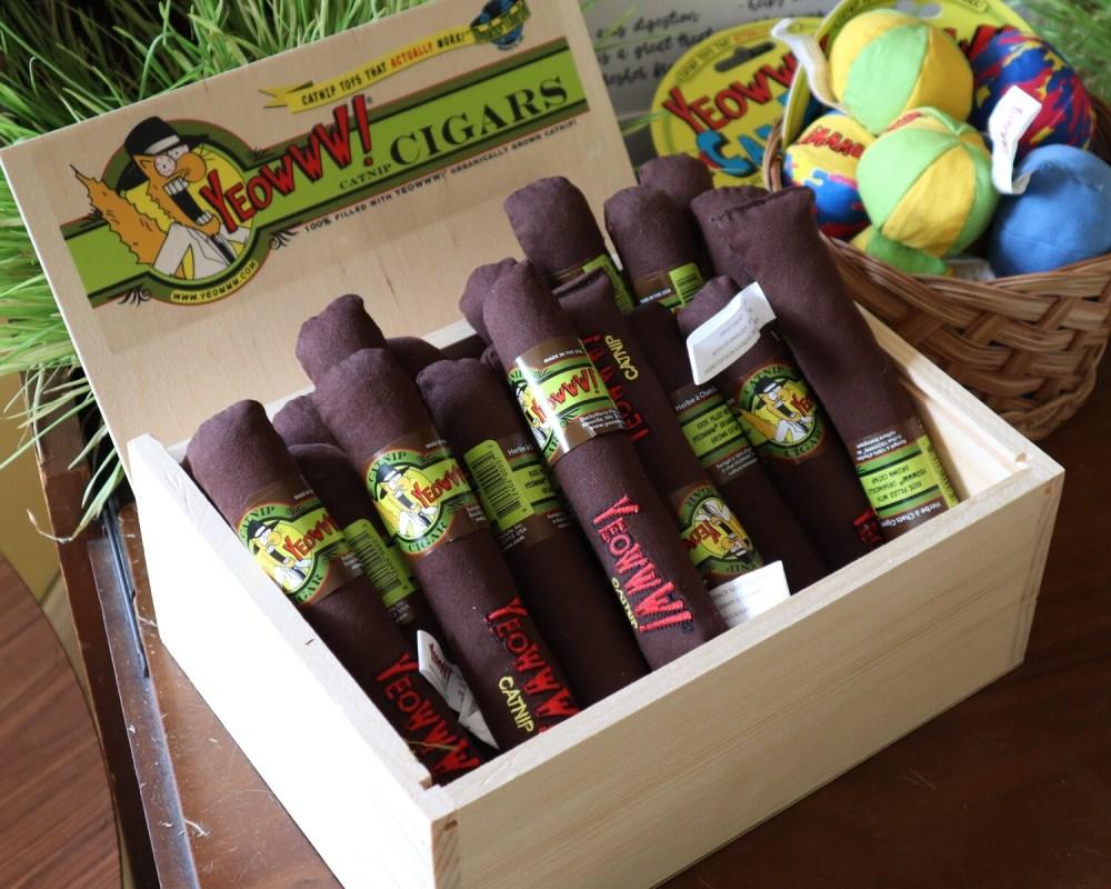 Yeowww! Single Cigar Catnip Toy
