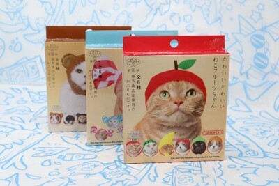 Mystery Blind Box Cat Cap: Fruit Edition (Kitan Club)