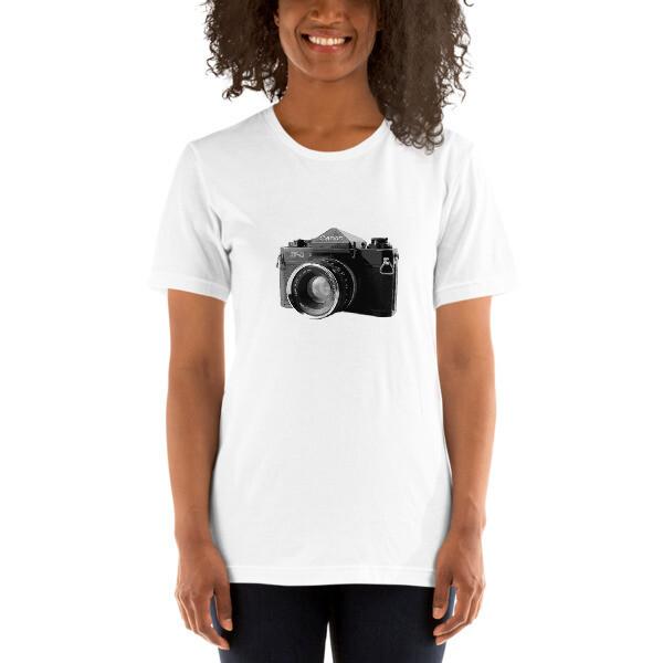 Canon F-1 Short-Sleeve Unisex T-Shirt