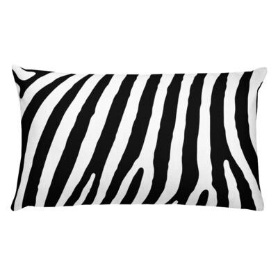 Zebra Striped Premium Pillow