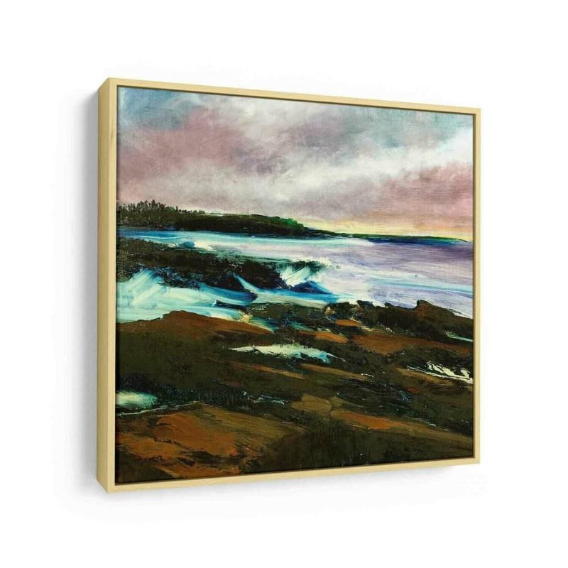 Coastal Sunrise | Original Oil Painting