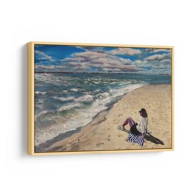 Waves of Change | Original Oil Painting