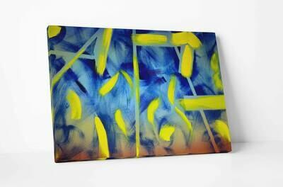 Lemon Yellow | Original Oil Painting