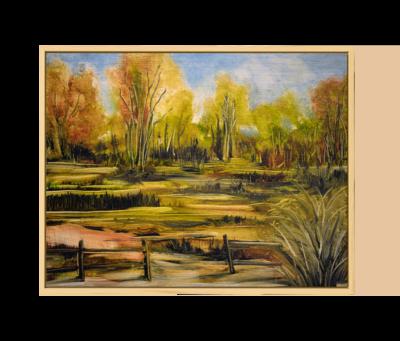 Bucolic Landscape | Original Oil Painting