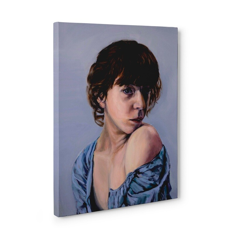 Liv Sage Portrait | Original Oil Painting