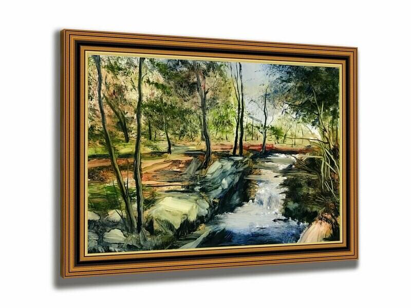 Spring Solitude | Original Oil Painting