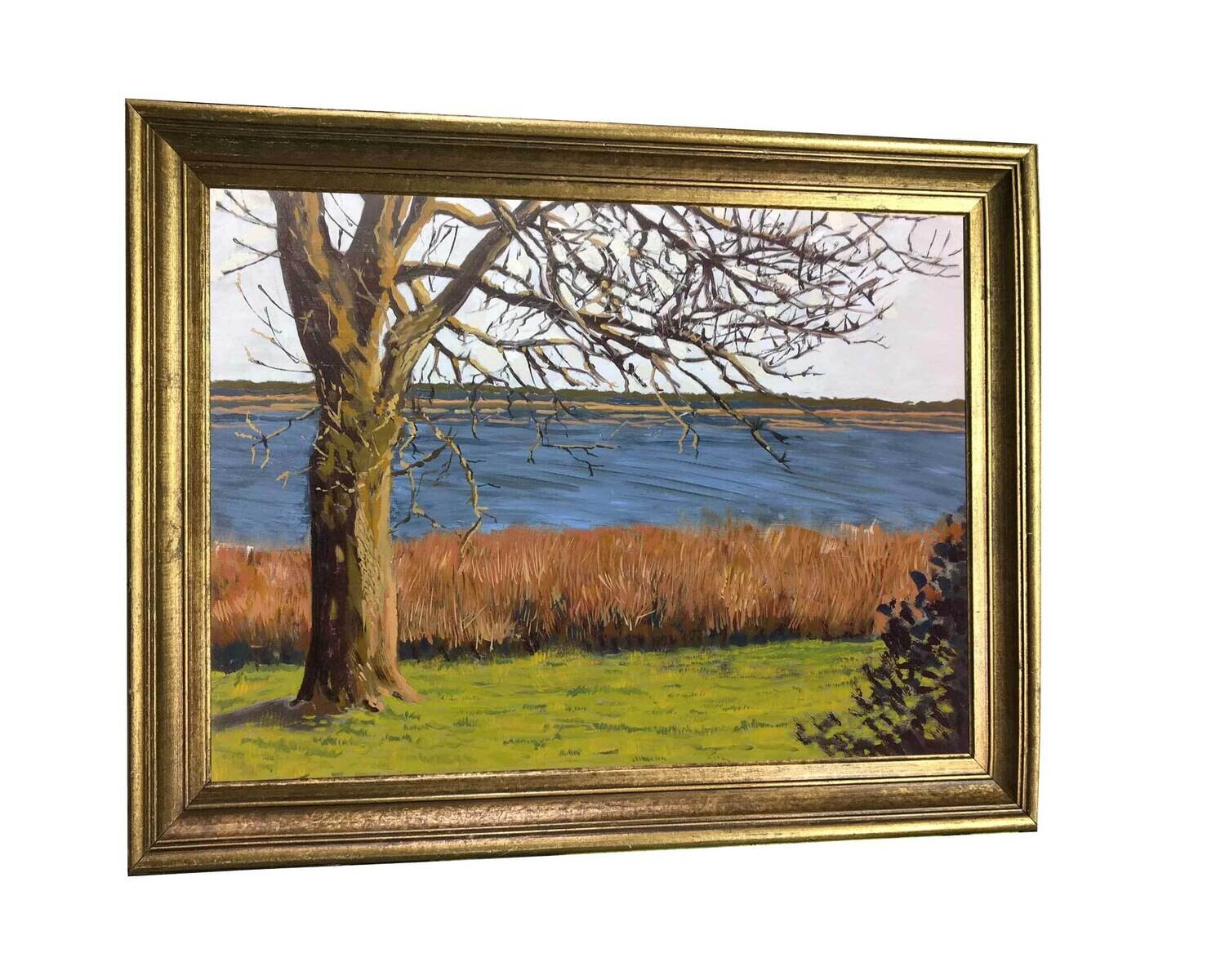Greenwich Cove   Original Oil Painting