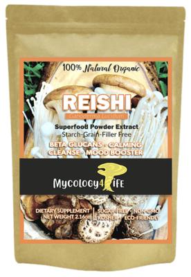 Reishi Mushroom 100% Organic Extract