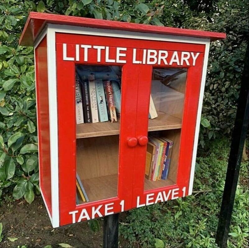 Make a Donation for Children's books for the Little Library