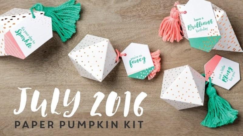 Paper Pumpkin - July 2016 NEW