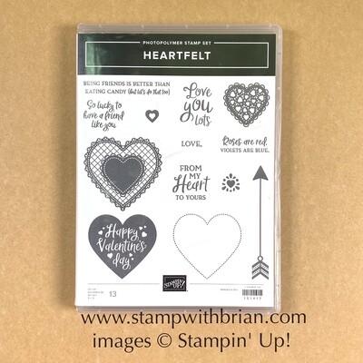 Heartfelt Photopolymer Stamp Set