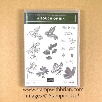 A Touch of Ink Photopolymer Stamp Set - NEW