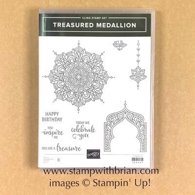 Treasured Medallion Cling Stamp Set