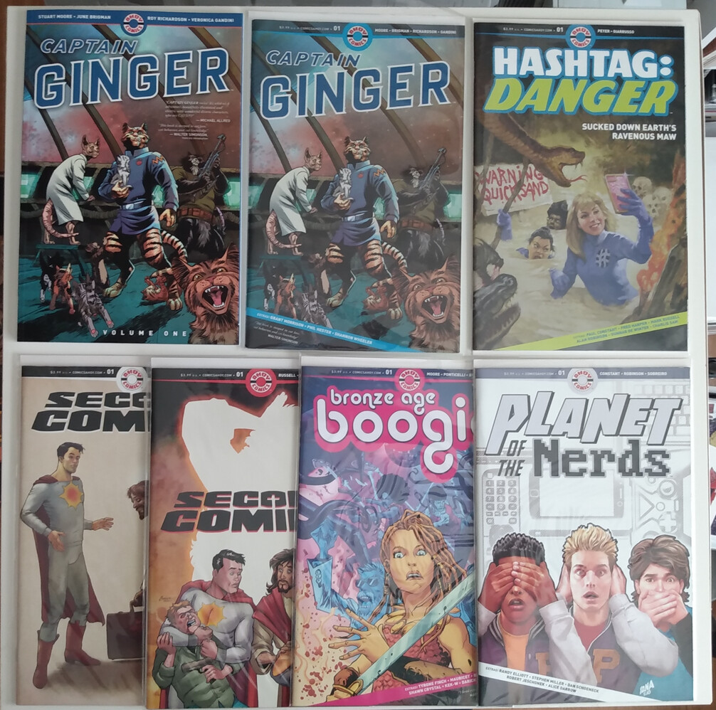 Ahoy Comics Lot
