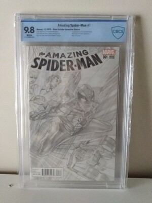 Amazing Spider-Man #1 (2015) Alex Ross Sketch 1:100