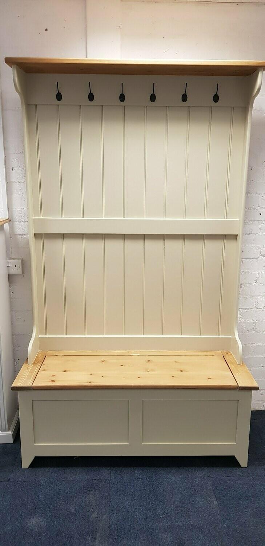 hall stand coat rack storage 4ft