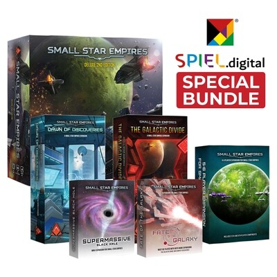 Small Star Empires DELUXE - Spiel.Digital Bundle (FREE SHIPPING)