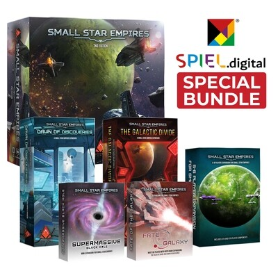 Small Star Empires Retail - Spiel.Digital Bundle (FREE SHIPPING)