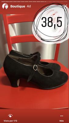 Zapatos profesionales Flamenco Gallardo N: 38,5