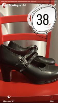 Zapatos profesionales Flamenco Roberto Garrudo N: 38