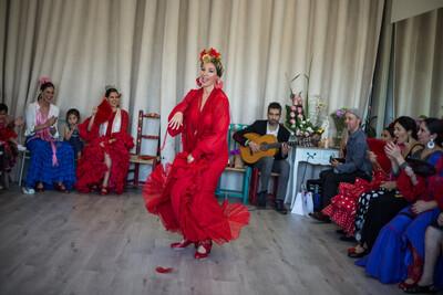 3 Meses de corrido Clases regulares Escuela La Moreneta Flamenco: 3 clases x semana