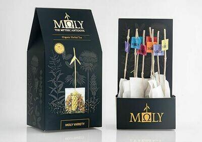 ΜΩLY Organic Herbal Tea Moly Variety