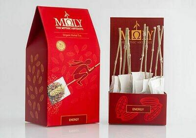 ΜΩLY Organic Herbal Tea Energy