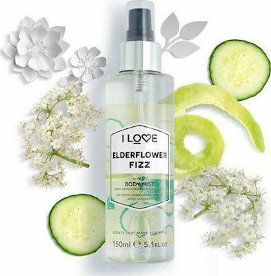 I Love Elderflower Fizz Body Mist 150ml