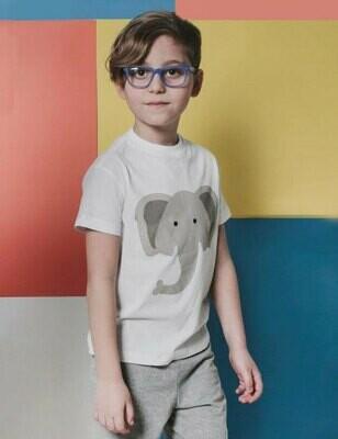 Keen Boy Sort Sleeve T-Shirt White Elephant