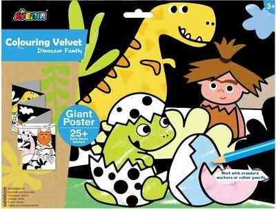 Giant Velvet Poster - Dinosaur