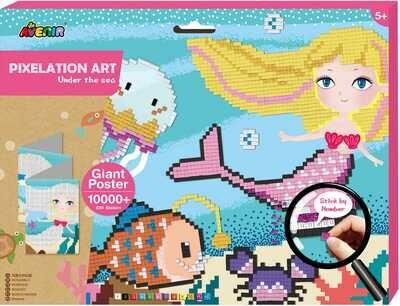 Pixelation Art  - Under The Sea