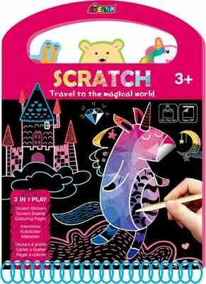 Scratch Book- Magical