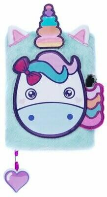 Plush NoteBook - Unicorns Head