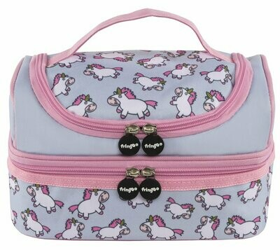 Two Compartment Lunch Bag