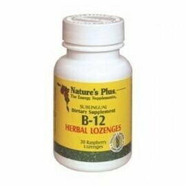 Natures Plus VIT. B12 Herbal Lozenges 30S