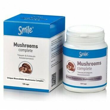 AM Health Smile Mushrooms Complete 120 caps