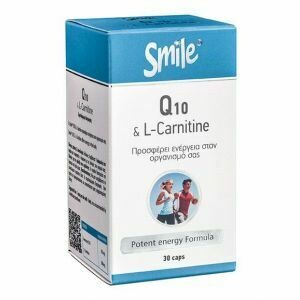 AM Health Smile Coenzyme Q-10 & L-Carnitine 30 caps