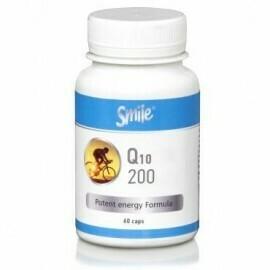 AM Health Smile Q10 200mg 60 caps